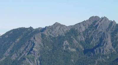 irst Top Peak, center. Second Top, right. Mt. Angeles, not shown, is the third top