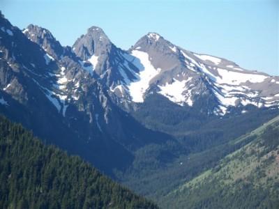 Buckhorn from Dirty Faced Ridge