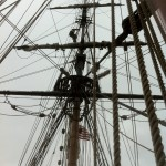 Up the rigging
