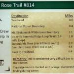 Mt.Rose Trail #814