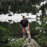 Bret at Silver Lake