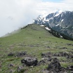 The path to the summit