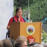 Tribal Chairwoman Frances Charles