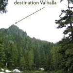 From Harrison Lake looking to Valhalla