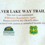 Trail Notice