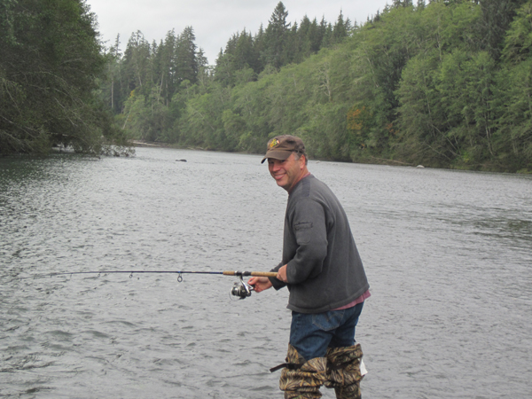 Salmon fishing on the hoh river for Hoh river fishing report