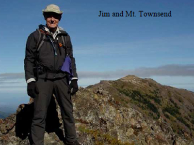 Jim and Mt. Townsend
