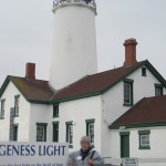 Lighthouse society chairperson Marcia Bromley