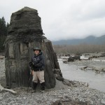 Bret and Lake Adwell stump