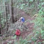 Klahhane Club trail maintenance