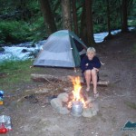 Garrett at Camp Lillian back in 2006