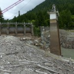 Blasting the Elwha River dam