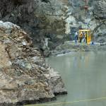 Blasting the Elwha River dam