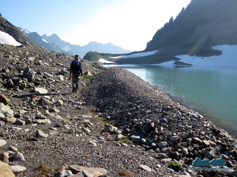 Joel and lateral moraine