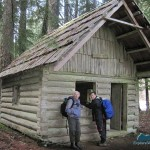 Inspecting Remann's Cabin