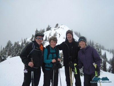 Snowshoe buddies