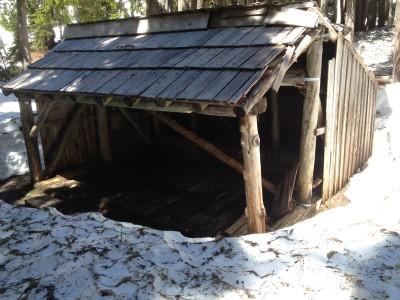 Shelter at Camp Siberia