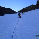 Climbing Blizzard Pass