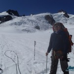 The Incidental Explorer on Blue Glacier