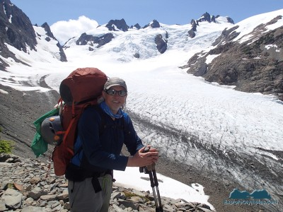 The Incidental Explorer, Mt Olympus in background