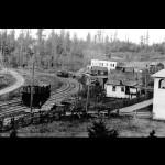 Blyn circa 1914. Clallam County Historical Society
