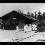 Sequim Depot 1915 Sequim Museum & Arts Center Photo
