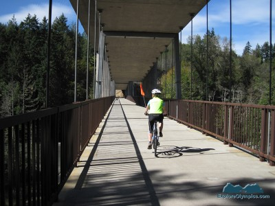 Wonderful bicycle bridge