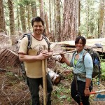 Trail crew Dave and Monica - thanks for all you do