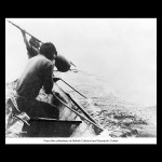 Makah harpooning a whale Photographer Asahel Curtis - UW Digital Collection