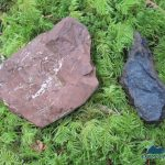 Red Hematite and Pyrolusite (manganese) from Crescent Mine