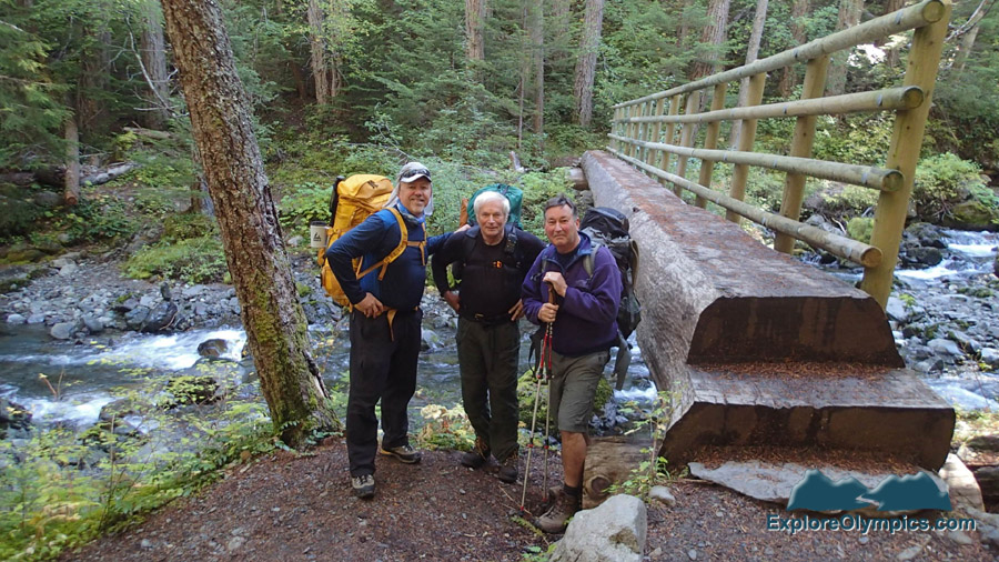 I love backpacking with these guys