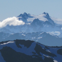 Mount Olympus from Grand Pass