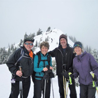 Snowshoeing on Hurricane Ridge - Olympic National Park