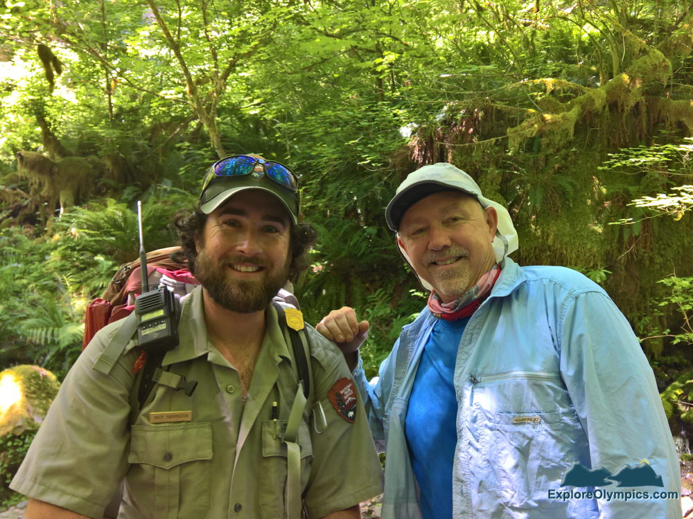 Ranger Andy Harrington and Bret