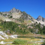 Lake of the Angels & Stone Mt, just west