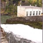 West End Spillway of Elwha Dam