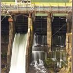 Elwha Dam West Spillway and Alwell Lake