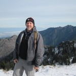 Bret on the summit