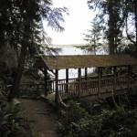 A picturesque footbridge