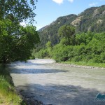 Trailhead is by the the Elwha River