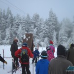 The rope tow