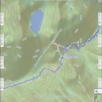 My path vs Anderson pass trail map