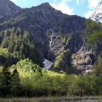 Enchanted Valley waterfalls