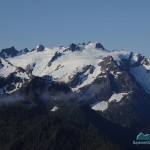 Mt Olympus from Camp Boston Charlie