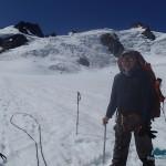 The Incidental Explorer on Blue Glacier