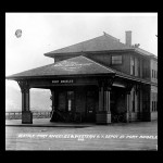 Seattle-Port Angeles and Western R.Y. depot 1916 UW digital collection