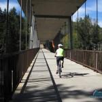 Wonderful bicycle bridge