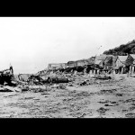Makah village at Ozette in the 1890's - North Olympic Heritage Collection